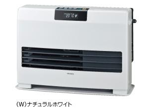 暖房 暖房器具 コロナ CORONA FF式温風ヒーター 【FF-WG4015Y(W)】 標準タイプ カートリッジタンク式 ナチュラルホワイト