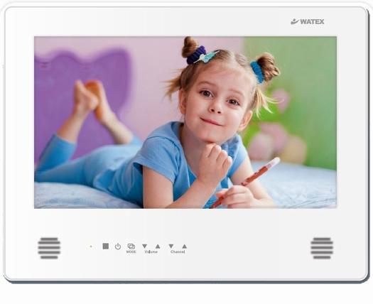 浴室テレビ 16インチ WMA-160-F(W) ワーテックス(WATEX)パールホワイト 地上デジタル防水テレビ リモコン・ホルダー付属