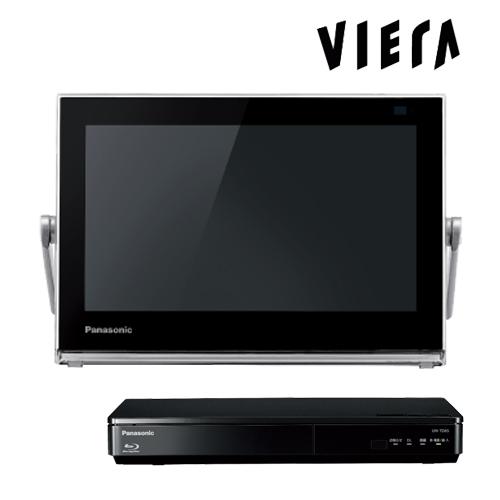 パナソニック プライベート・ビエラ UN-10TD6-K ブラック 10V型 ポータブルテレビ HDDレコーダー付 地デジ・BS・110度CS