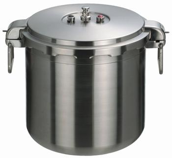 ワンダーシェフ ビッグサイズ 610447 プロ仕様両手圧力鍋 業務用 30L(NPDC30)