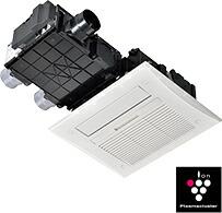 リンナイ 浴室暖房乾燥機 【RBHM-C419K3P】 天井埋込型:スプラッシュミスト機能搭載タイプ(標準モジュール)3室換気対応