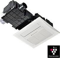 リンナイ 浴室暖房乾燥機 【RBHM-C419K2P】 天井埋込型:スプラッシュミスト機能搭載タイプ(標準モジュール)2室換気対応