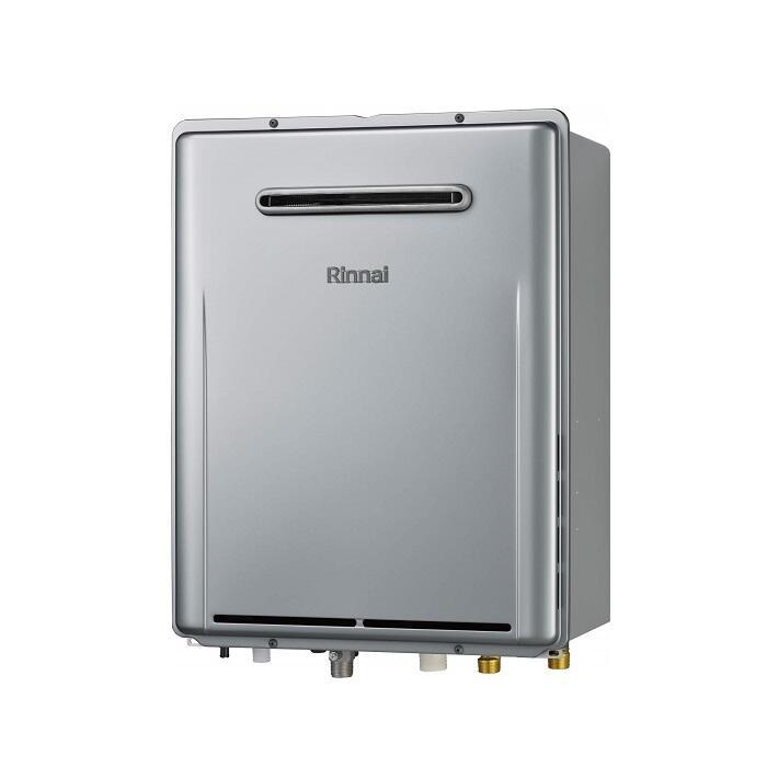 リンナイ 給湯器 RUF-E2406AW シャイニーシルバー エコジョーズ ガス給湯器 24号 屋外壁掛形 PS設置不可 フルオート