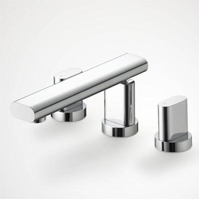 浴室 水栓 シャワー 水栓金具 KVK 【KM99】埋込2ハンドル混合栓 equalシリーズ