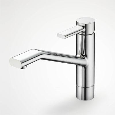 浴室 水栓 シャワー 水栓金具 KVK 【KM906】シングルレバー式混合栓 equalシリーズ
