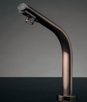 水栓 混合栓 カクダイ 水栓金具 【239-002-2】 小型電気温水器(センサー水栓つき・ブロンズ)