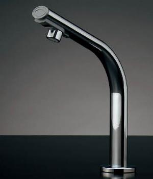 水栓 混合栓 カクダイ 水栓金具 【239-001-2】 小型電気温水器(センサー水栓つき)
