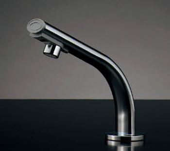 水栓 混合栓 カクダイ 水栓金具 【239-001-1】 小型電気温水器(センサー水栓つき)
