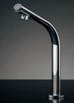 水栓 混合栓 カクダイ 水栓金具 【239-001-3】 小型電気温水器(センサー水栓つき)