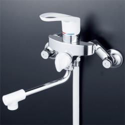 浴室 水栓 シャワー 水栓金具 KVK 【KF5000W】 シングルレバー式シャワー
