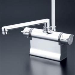 浴室 水栓 シャワー 水栓金具 KVK 【KF3011TS2】 デッキ形サーモスタット式シャワー(可変ピッチ式・ワンストップシャワー付)