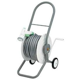 カクダイ ホースドラム 散水・屋外冷却用 ホース付 554-603