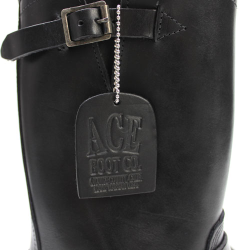 """ACE BOOT CO."" ENGINEER BOOT BLACK"