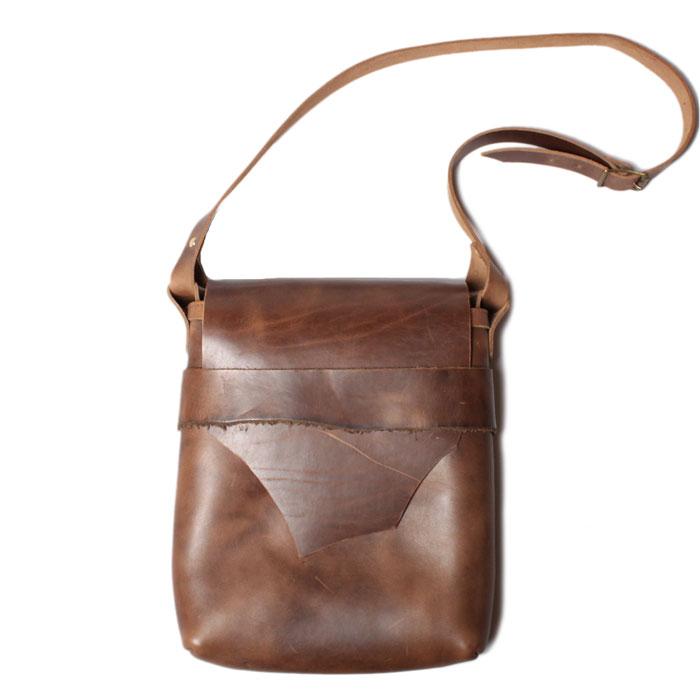 【 フェルナンドレザー ケリーポーチ ラージ ナチュラル 】Fernand Leather Kelly Pouch Large Natural
