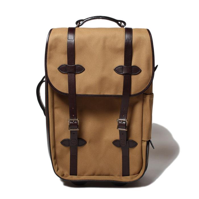 SALE【セール】【 フィルソン ローリングキャリーオンバッグ ミディアム タン 】 【正規取扱店】 FILSON Rugged Twill Rolling Carry-On Bag MEDIUM TAN #70323