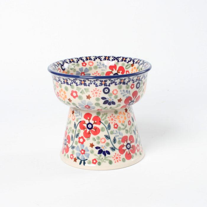 【 ポーリッシュポタリー マヌファクトゥラ社製 ペットボウル 】【ポーランド陶器】【ポーランド食器】【ボレスワヴィエツ陶器】Polish Pottery Manufaktura Pet Bowl