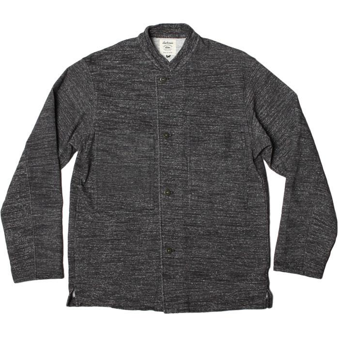 SALE【セール】【 ジャックマン ドツメ BB シャツジャケット ヘザーブラック 】【2019春夏コレクション】 Jackman BB Shirt Jacket Heater Black