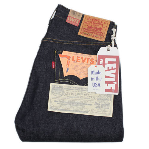 LEVI'S VINTAGE CLOTHING 501ZXX JEANS 1954 MODEL (50154-0001 RIGID)