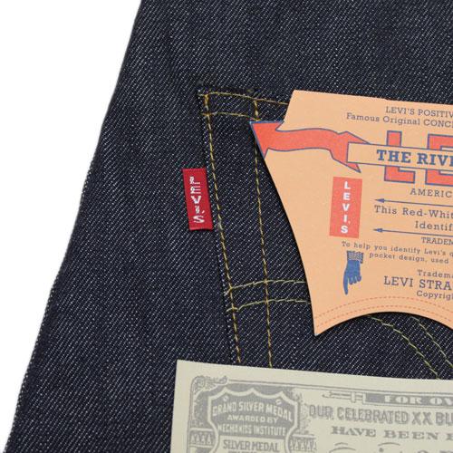"""""""LVC LEVI's 复古服装 ' 501 牛仔裤 1947年模型 XX (47501-0117年刚性)"""