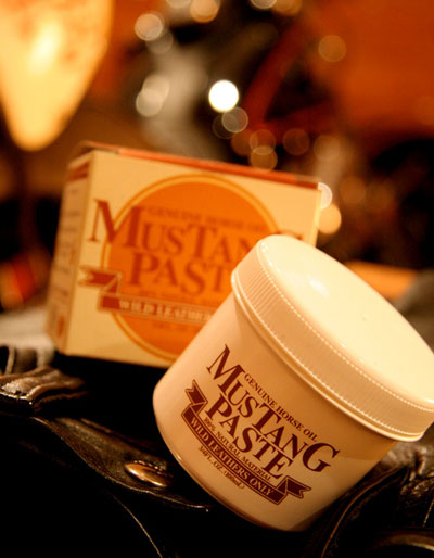 MUSTANG PASTE (paste Mustang) for leather maintenance oil