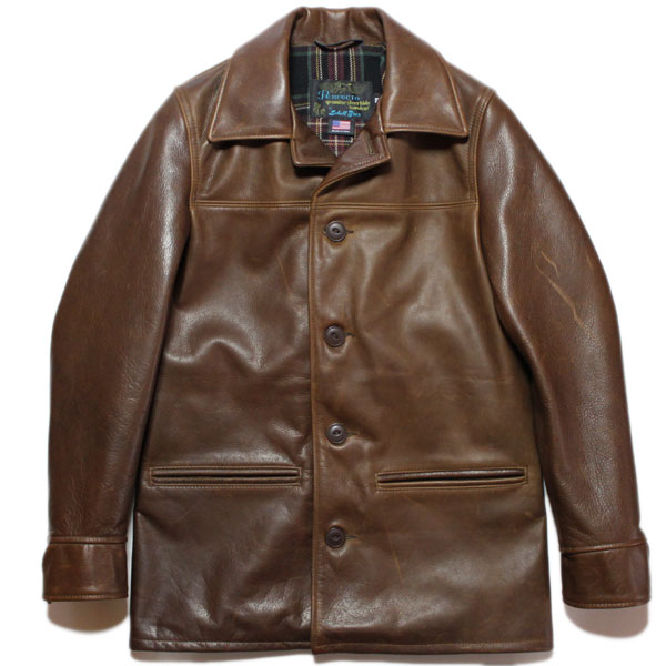 RHINO STORE | Rakuten Global Market: SCHOTT 533US LEATHER CAR COAT ...