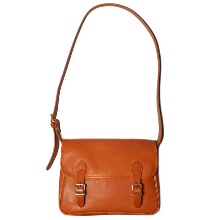 【 スロウ ボーノ ハンティング ショルダーバッグ 】 SLOW bono - hunthing shoulder bag CAMEL(49S144G)