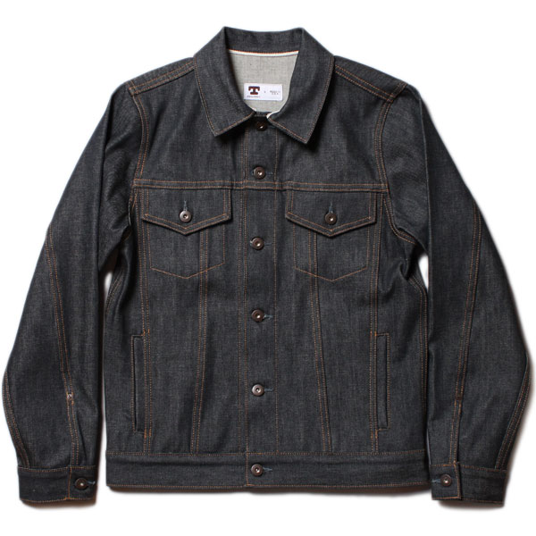 TELLASON JEAN JACKET 12.5oz. DENIM RIGID