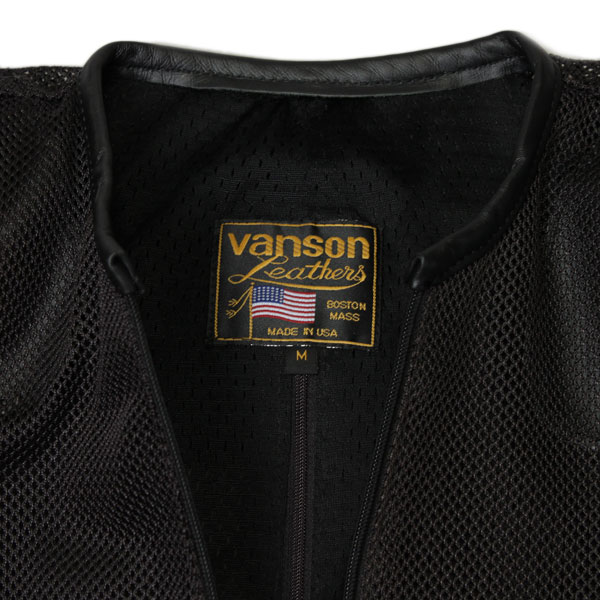 VANSON VENT MAX 4 Cordura Nylon Mesh Riders MADE IN USA