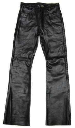 【バンソンレザーパンツ ブーツカットタイプ 送料無料】VANSON PT17 LEATHER PANTS BOOTS CUT