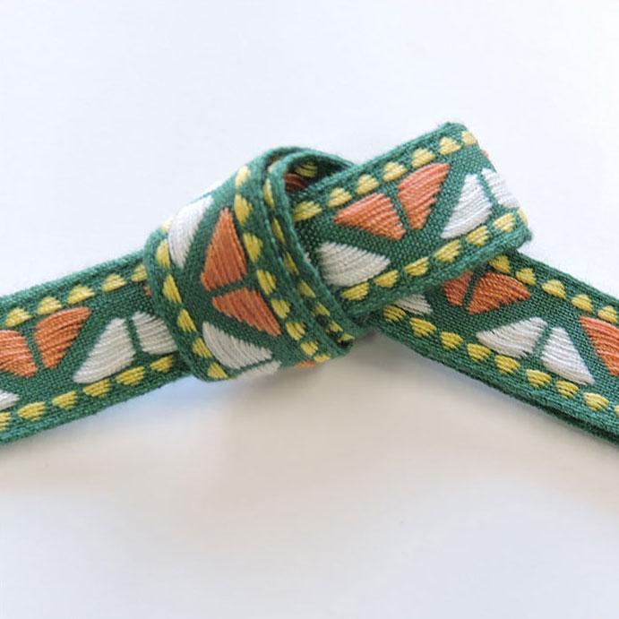 チロル テープ チロリアン 30m巻 全10色 手芸用 SHINDO 服飾用 リボン sic-2042