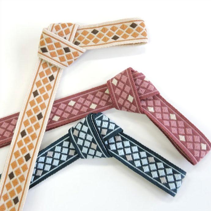 チロル テープ チロリアン 50m巻 全7色 手芸用 SHINDO 服飾用 リボン sic-2156