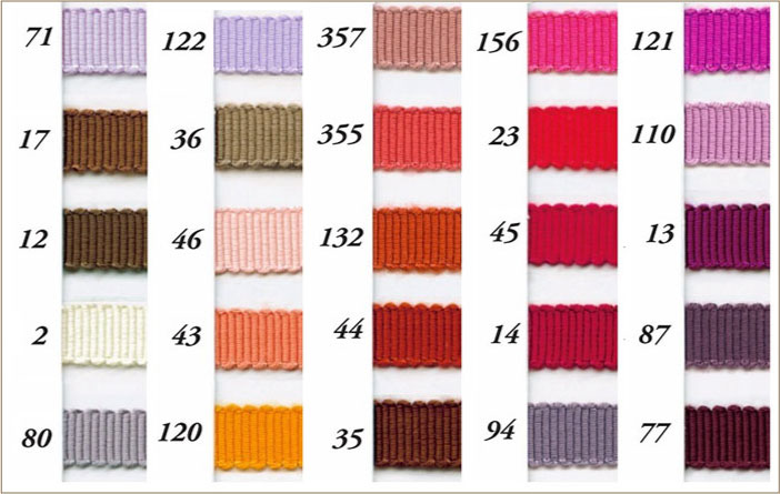 レーヨン ペタシャム グログラン リボン 5mm 30m巻 全100色 SHINDO 手芸 服飾 SIC-100-050