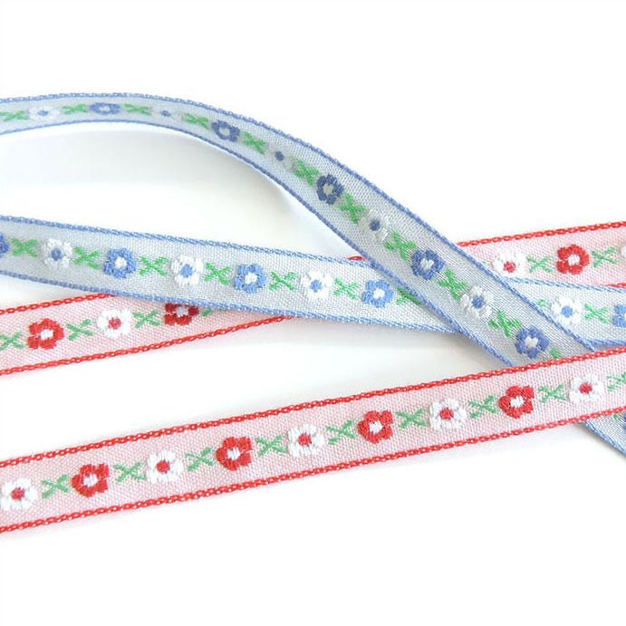 チロル テープ チロリアン 50m巻 全14色 手芸用 SHINDO 服飾用 リボン sic-2007