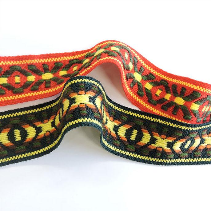チロル テープ チロリアン 15m巻 全7色 手芸用 SHINDO 服飾用 リボン sic-2036