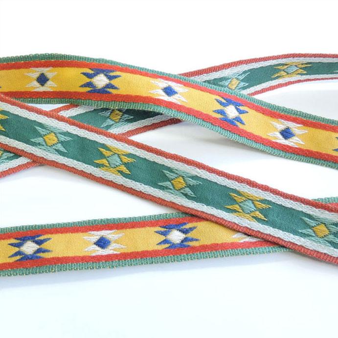 チロル テープ チロリアン 50m巻 全7色 手芸用 SHINDO 服飾用 リボン sic-2093