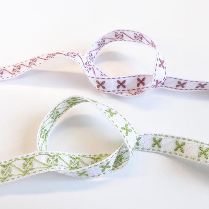 チロル テープ チロリアン 50m巻 15mm 全5色 手芸用 SHINDO 服飾用 リボン sic-2153