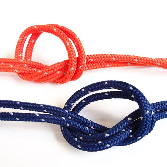 再帰反射 丸コード 5mm 50m巻 全5色 SHINDO 服飾 ロープ スポーツ 蓄光 SIC-8713