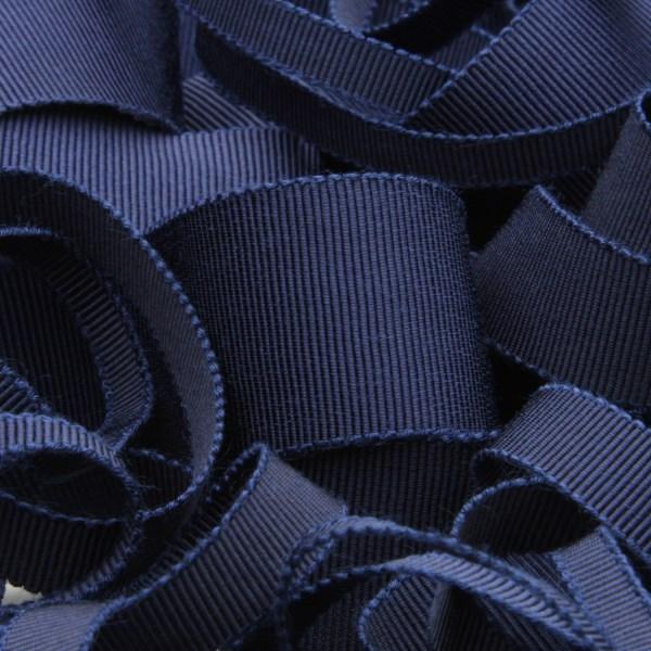 プロも絶賛 上品な光沢で高級感溢れる日本製グログランリボン グログランリボン レーヨン 15mm 購買 ネイビーブルー FUJIYAMA ラッピング 倉 RIBBON 9.14M巻 服飾 手芸