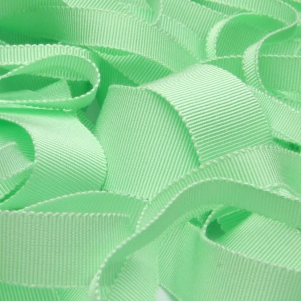 割引 プロも絶賛 上品な光沢で高級感溢れる日本製グログランリボン グログランリボン レーヨン 15mm ミントグリーン FUJIYAMA 手芸 ラッピング 9.14M巻 売店 RIBBON 服飾
