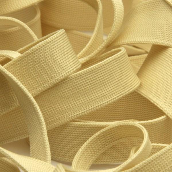どんな生地とも相性 肌当たり良く柔らかな日本製ニットテープ 薄手ニットテープ ポリエステル 12mm ライトベージュ ラッピング 9.14M巻 FUJIYAMA 服飾 限定特価 大人気 RIBBON 手芸
