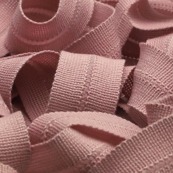 アウターや帽子 春の新作シューズ満載 カバンの縁取りに最適 ウール製メートライン ニットバインダーテープ 低価格化 ウール 13x13mm ダスティーピンク バイアステープ FUJIYAMA 手芸 メートライン RIBBON 服飾 9.14M巻