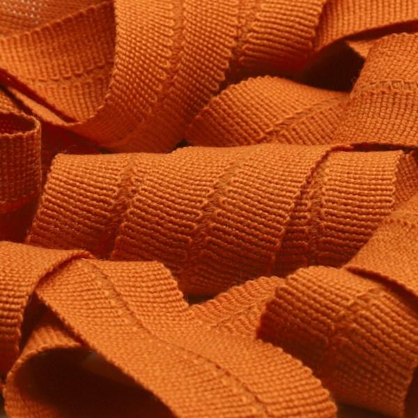 アウターや帽子 手数料無料 カバンの縁取りに最適 ウール製メートライン ニットバインダーテープ ウール 13x13mm バーントオレンジ 9.14M巻 服飾 いつでも送料無料 RIBBON メートライン 手芸 FUJIYAMA バイアステープ