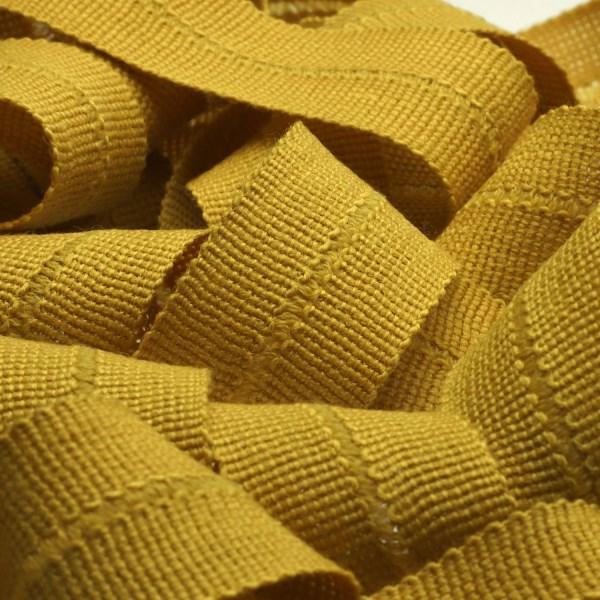 アウターや帽子 カバンの縁取りに最適 ウール製メートライン ニットバインダーテープ ウール 13x13mm ゴールデンイエロー メートライン 服飾 9.14M巻 FUJIYAMA 最安値 RIBBON 公式通販 手芸 バイアステープ