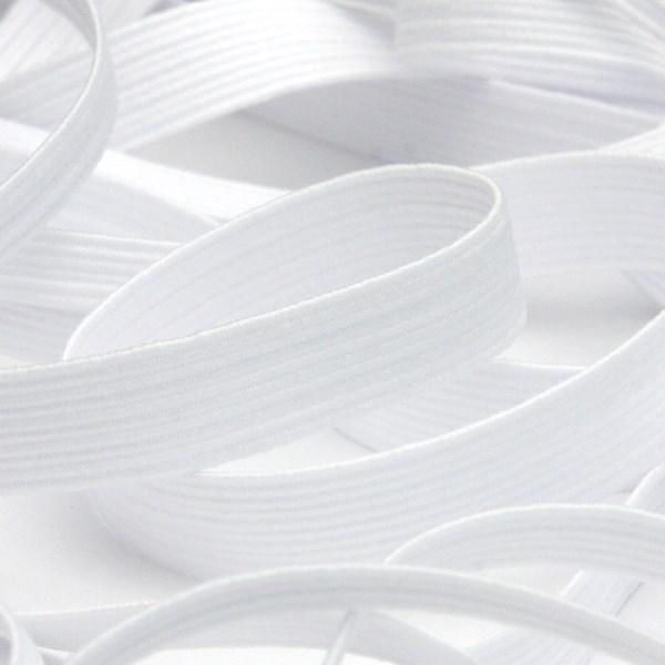 快適な使い心地と耐久性を追求 豊富なカラーのコールゴム カラーコールゴム 約6mm ホワイト 9.14M巻 ラッピング 送料無料カード決済可能 手芸 FUJIYAMA お中元 RIBBON 服飾