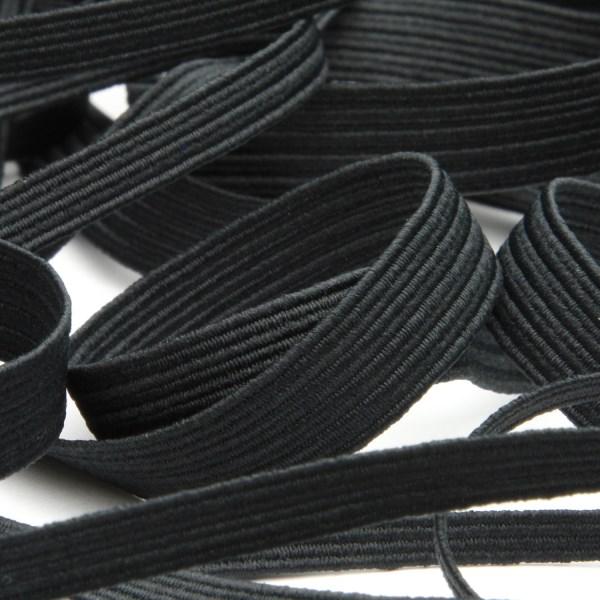 快適な使い心地と耐久性を追求 豊富なカラーのコールゴム カラーコールゴム 春の新作続々 約6mm ブラック 新作続 9.14M巻 FUJIYAMA 手芸 服飾 ラッピング RIBBON