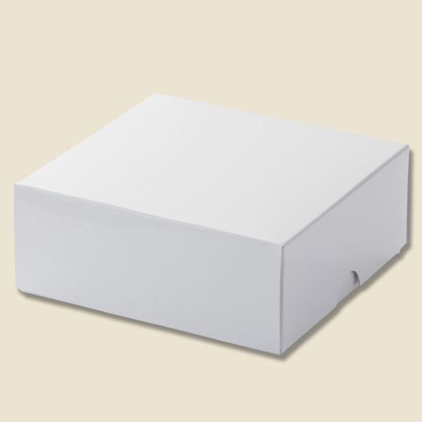 ribbon net shop gift box favor white solid color box esprit
