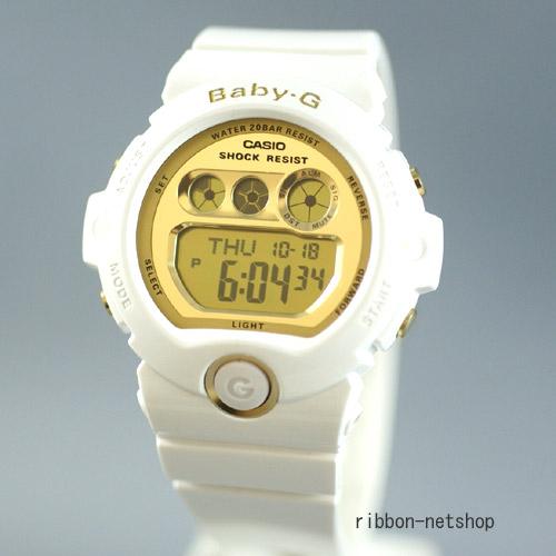 【送料無料】Baby-G 腕時計ベビーG ホワイト×ゴールド BG-6901-7JF【楽ギフ_メッセ入力】