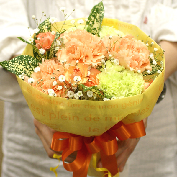 ribbon-net shop | Rakuten Global Market: Check wrapping carnations ...