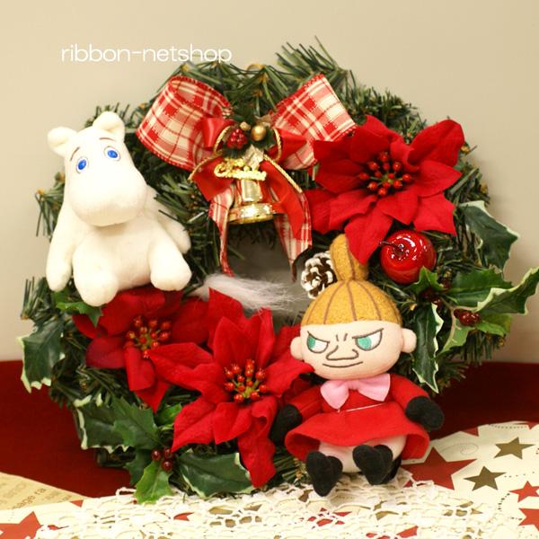 Ribbon net shop rakuten global market christmas wreath 30 cm christmas wreath 30 cm moomin mascot with silk flowers artificial lease fl ch 407 mightylinksfo