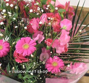 Designer chef ♪ sweet pea and seasonal flower bouquets ( flower ) FL-1GT-7